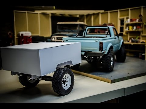 scale crawler custom pop up camper trailer build part 1. Black Bedroom Furniture Sets. Home Design Ideas