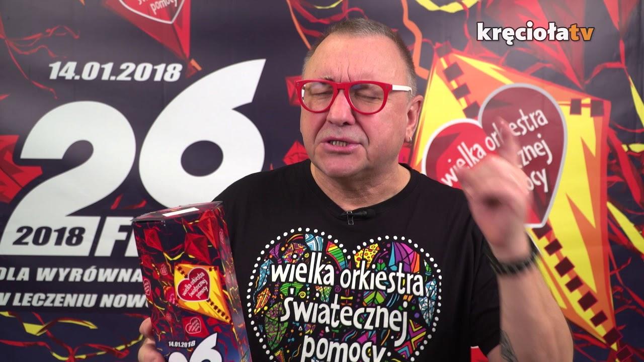 Jurek Owsiak dziękuje Sztabom i Wolontariuszom za 26. Finał WOŚP!