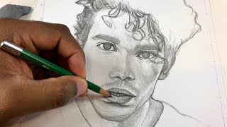 For Cameron!! How To Draw Cameron Boyce: Step by Step