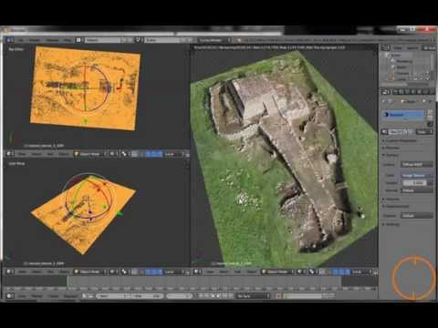 Architectural survey with drone | Mapa 3D creado con drone