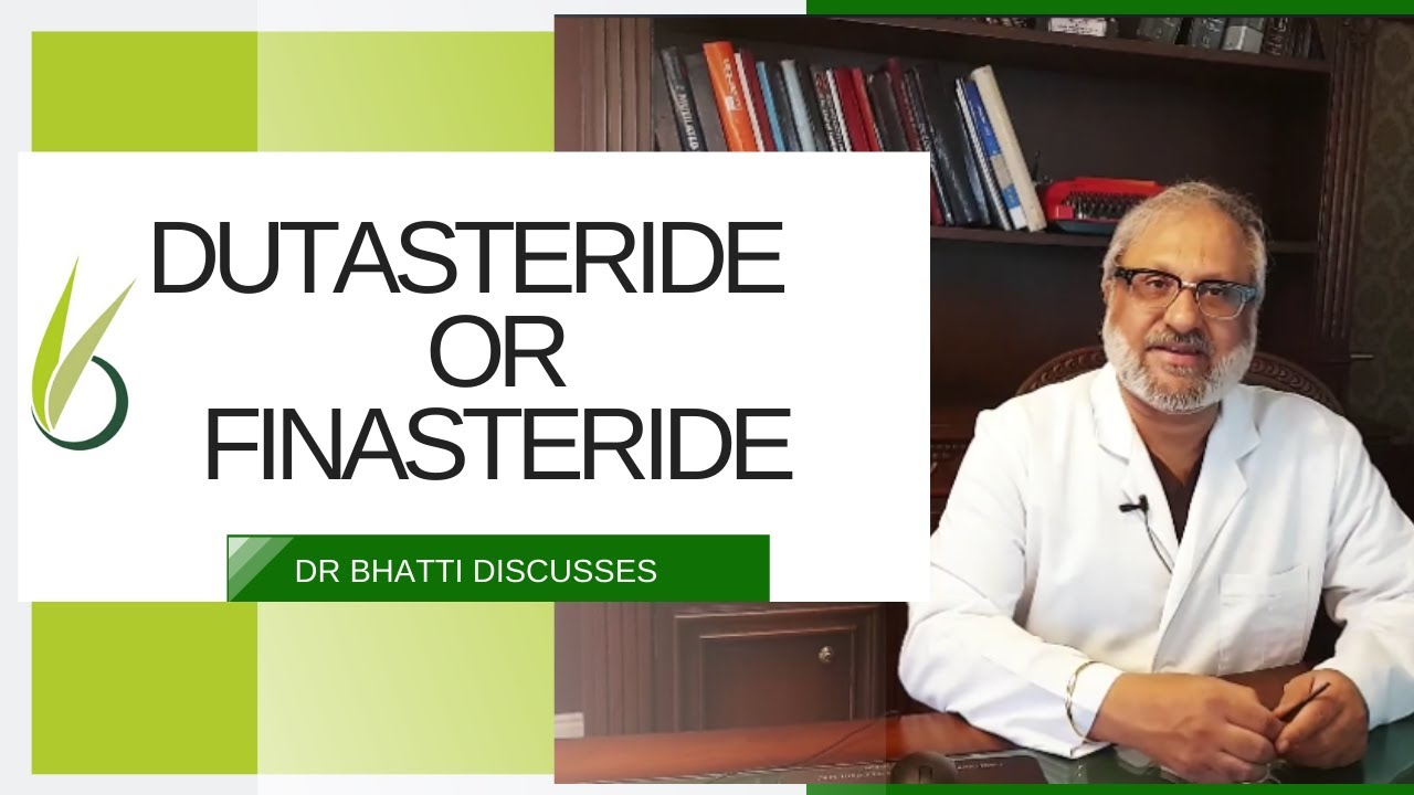 Dutasteride Or Finasteride For Hair Loss English Youtube