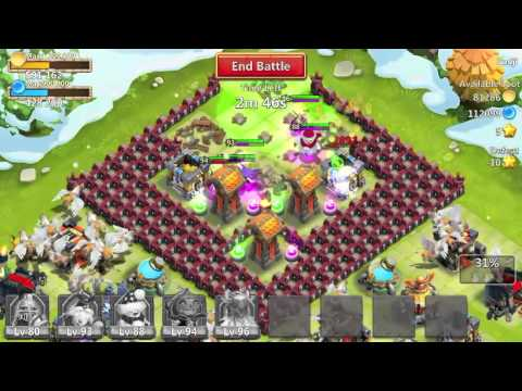 How To Level Up Your Heroes Fast In Castle Clash 2014