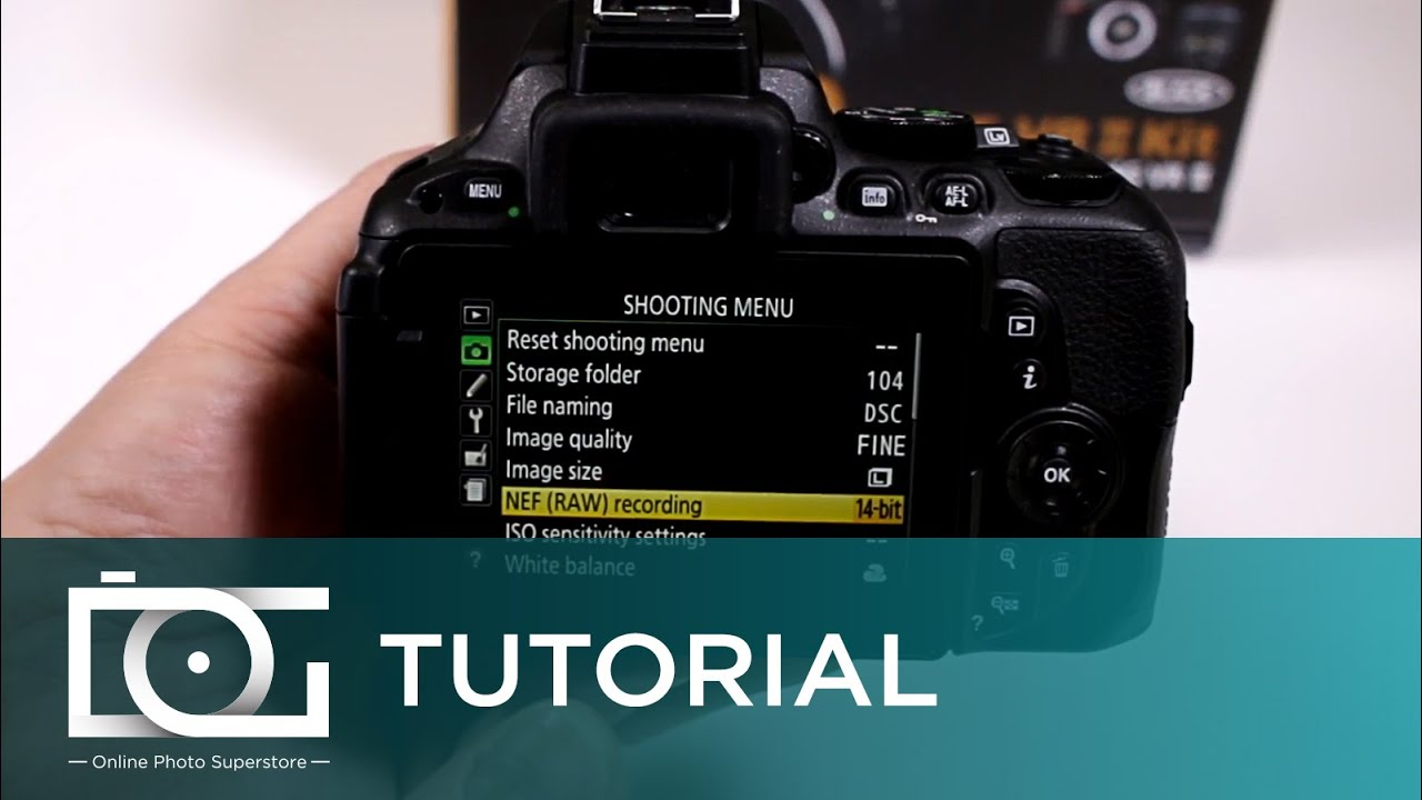 NIKON D5500 TUTORIAL | Can I Shoot Raw Files with My Nikon ...