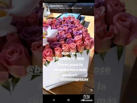 Mayrín Villanueva presume a su hija en Instagram y le envía especial regalo de cumpleaños