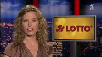 Letzte Ziehung der Lottozahlen live in der ARD (29.06.2013)