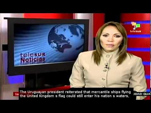 Uruguay to block ships flying Falkland Islands flags