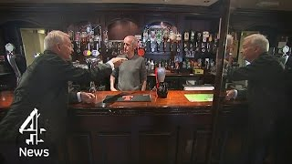 Subscribe to Channel 4 News: http://bit.ly/1sF6pOJ Jon Snow spends ...