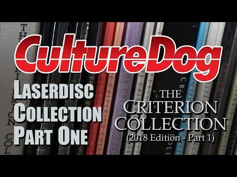 LaserDisc Collection 1:  Criterion Collection LDs (Part One)