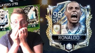 The Greatest FIFA Mobile Pack Opening Ever! Claiming Prime Icon Ronaldo and Treasure Master Sterling