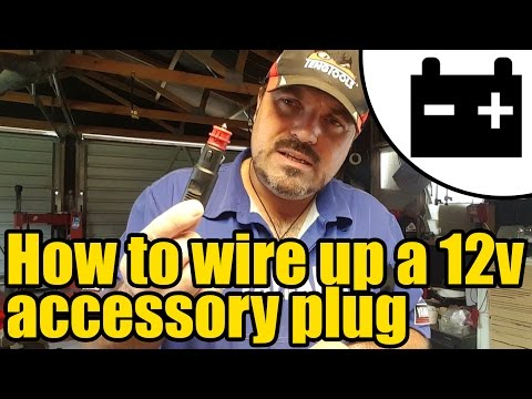 #1953 - How to wire up a 12v accessory plug