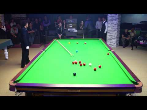 Stephen Lee Exhibition 2014 - Stephen Lee ( Break 111 ) vs Alan Tay at Niche Snooker Academy