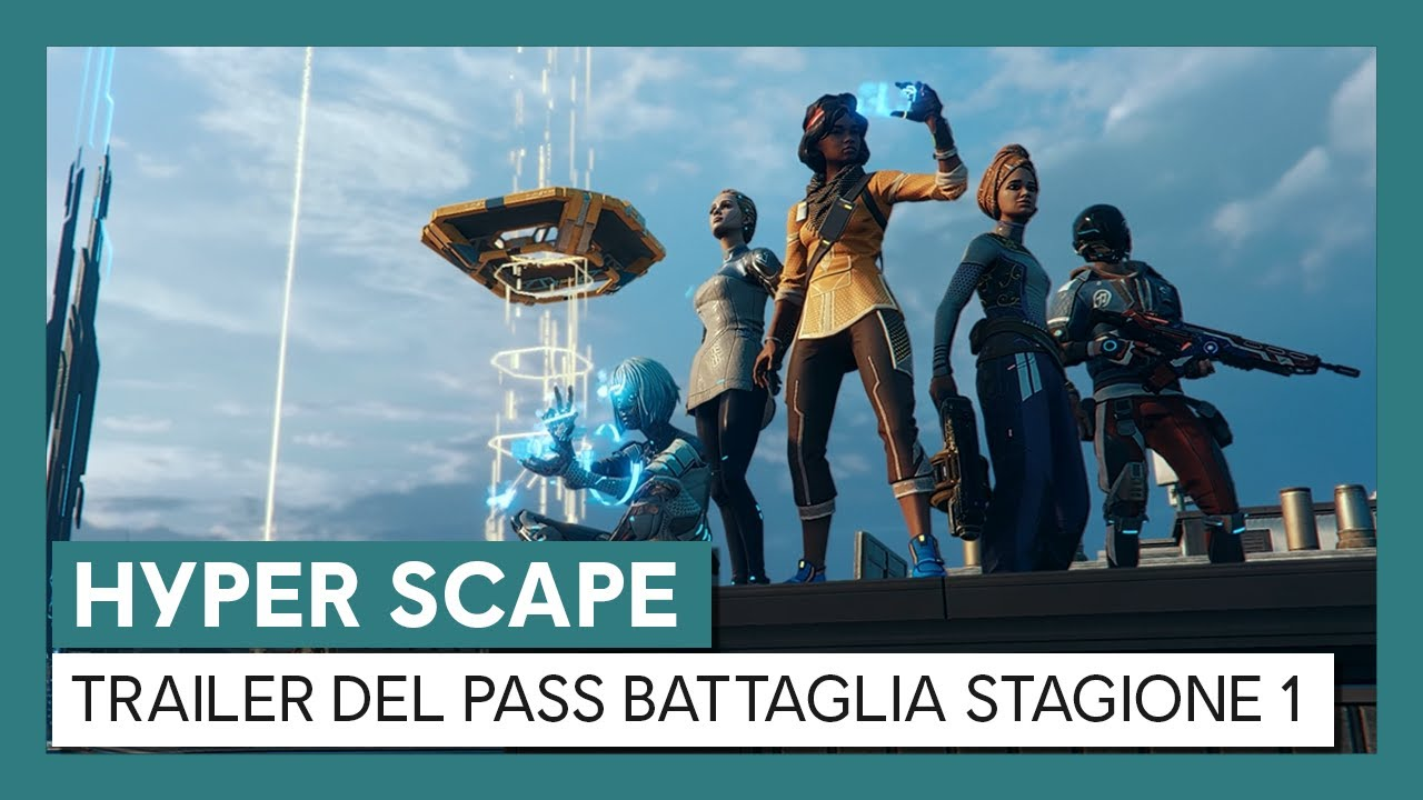 Hyper Scape: Trailer del Pass Battaglia Stagione 1