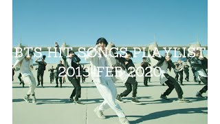 BTS (방탄소년단) HIT SONGS COMPILATION 2013-2020 (MAKE U HIGH AND FULL OF ENERGY)