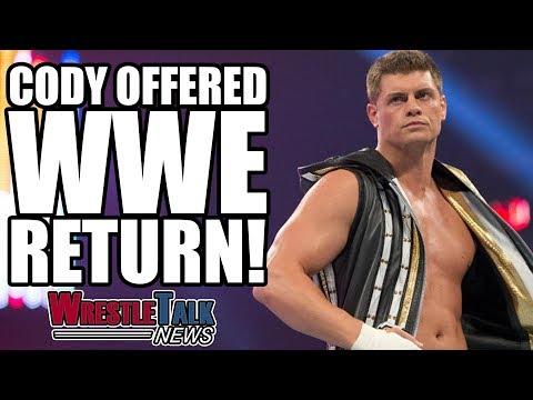 Cody Rhodes Offered WWE RETURN! HUGE Bullet Club WWE Crossover?   WrestleTalk News Sept. 2017