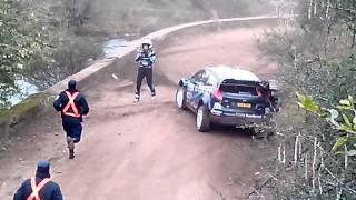 Accidente de Mikko Hirvonen durante el Rally de Argentina