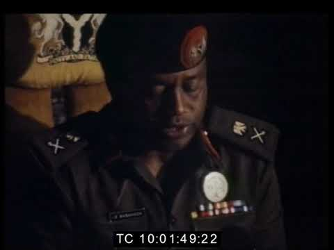 Babangida Coup: Swearing-in Ceremony of the New Armed Forces Ruling Council  | August 1985