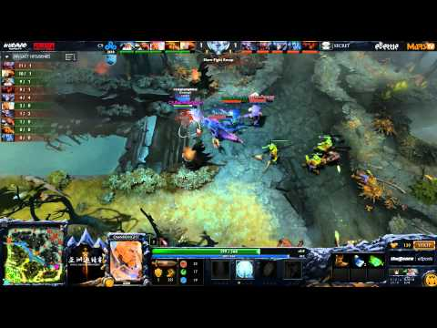 Secret vs C9 - DAC 2015 - LB - SF - G3