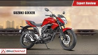 Suzuki Gixxer Expert Review | BikeDekho.com