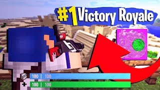 FORTNITE SECRET BATTLE ROYALE IN MINECRAFT!
