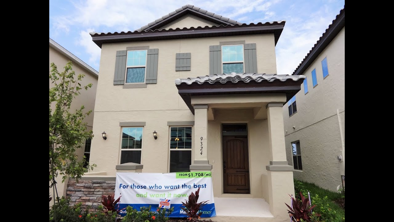 winter garden new homes watermark by meritage homes angelou model youtube - New Homes Winter Garden