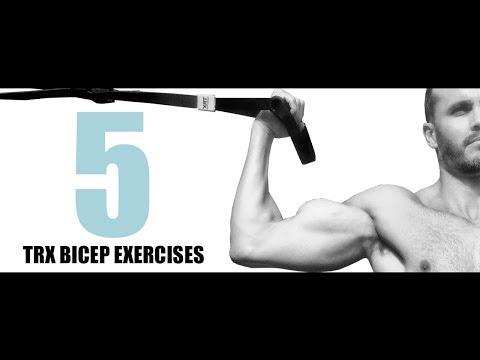 5 TRX BICEP EXERCISES