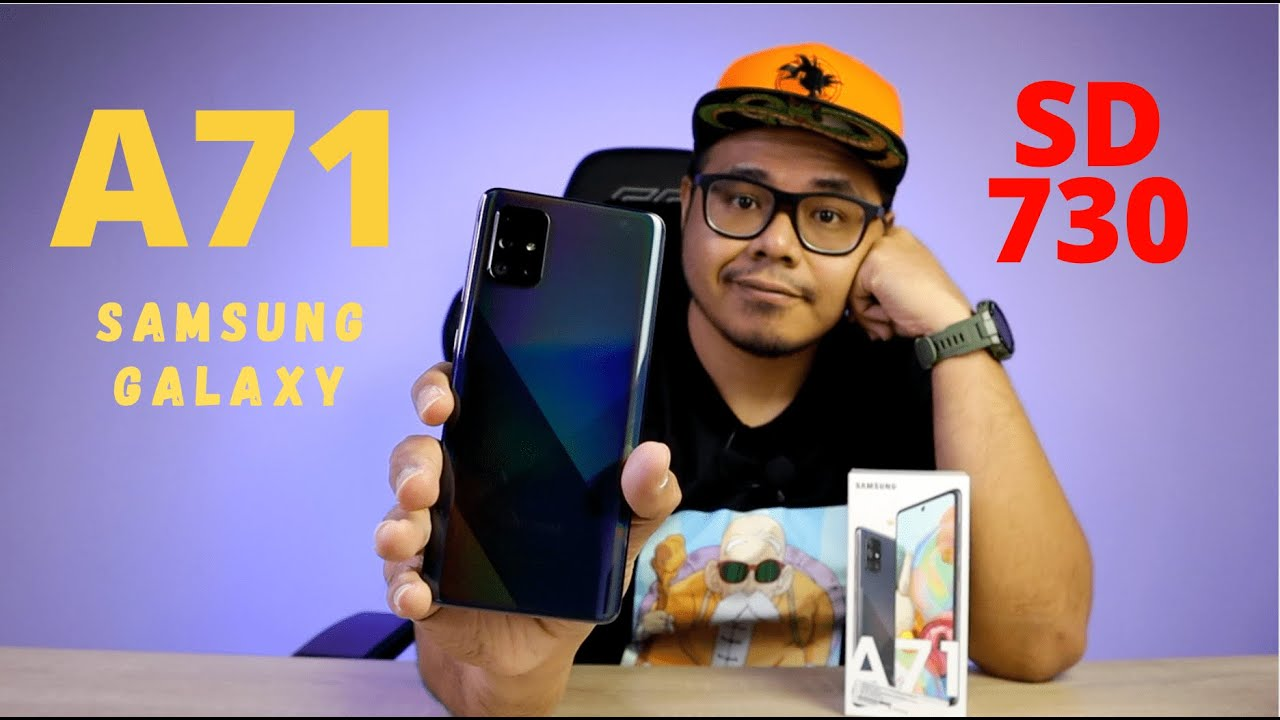 SAMSUNG BER SNAPDRAGON 730 - SAMSUNG GALAXY A71 [UNBOXING & HANDS ON]