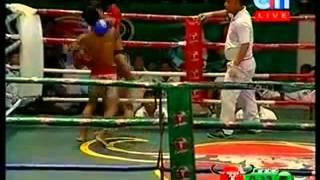 Khmer Boxing | 15 August 2014 | Leas Teark vs Phav Peart | Svay Chanthorn vs Pich Tola