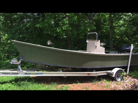 21 Foot Sound Boat at Auction