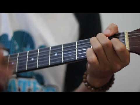 Cover Akad Payung Teduh nada Asli Kunci Gitar dan Genjrengan