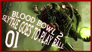 Blood Bowl 2 Skaven Eternal League Gameplay Let's Play Part 1 (SLYTHE GOES TO PLAY BALL)