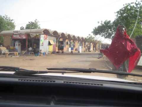Taxi ride in Niamey, Niger 2010