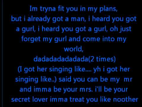 Mr and Mrs Fresh- Fit you in my plans lyrics 2012
