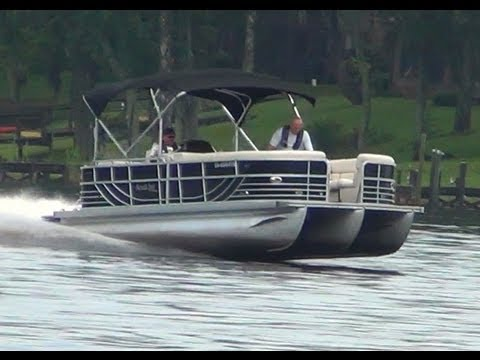 Fastest Pontoon Boat Youtube