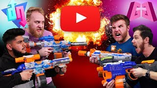 NERF YouTuber Showdown Challenge!