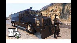 قراند 5 : انقاذ ملفات سرية من الاحتراق ب سيارة الاطفاء المدرعة !! |#50 GTA V