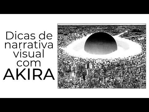 Dicas de narrativa visual de quadrinhos com AKIRA