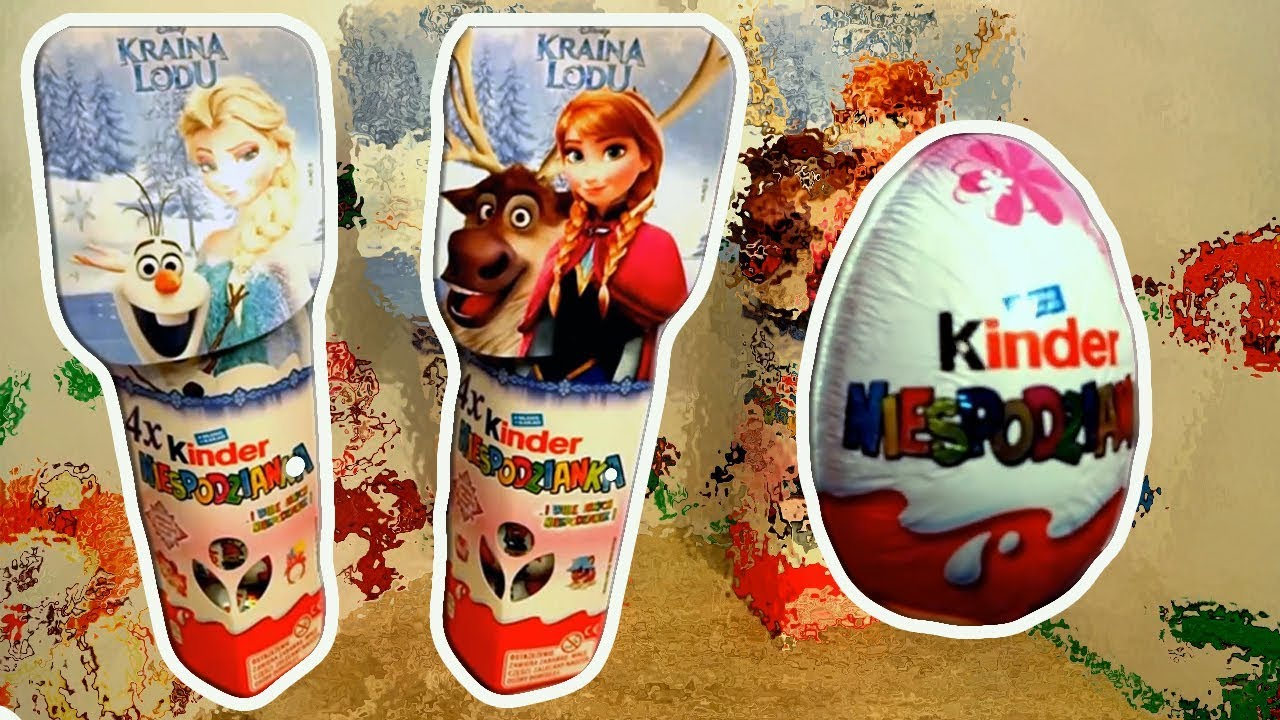 Disney Frozen 8 Elsa and Anna Princess of Arendelle Kinder Surprise Eggs #63