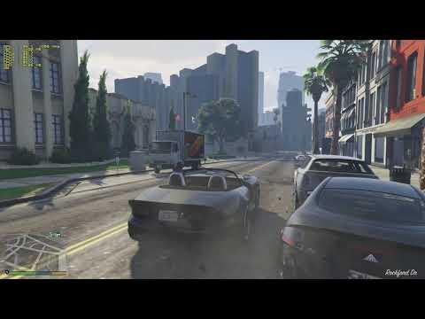Grand Theft Auto V 1080p Vsync Off AMD A12-9800 R7 IGPU. Almost Fine.