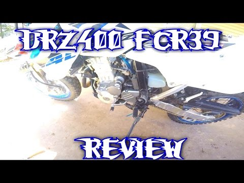 DRZ400 FCR39 REVIEW - Is it Worth the Money? - YouTube