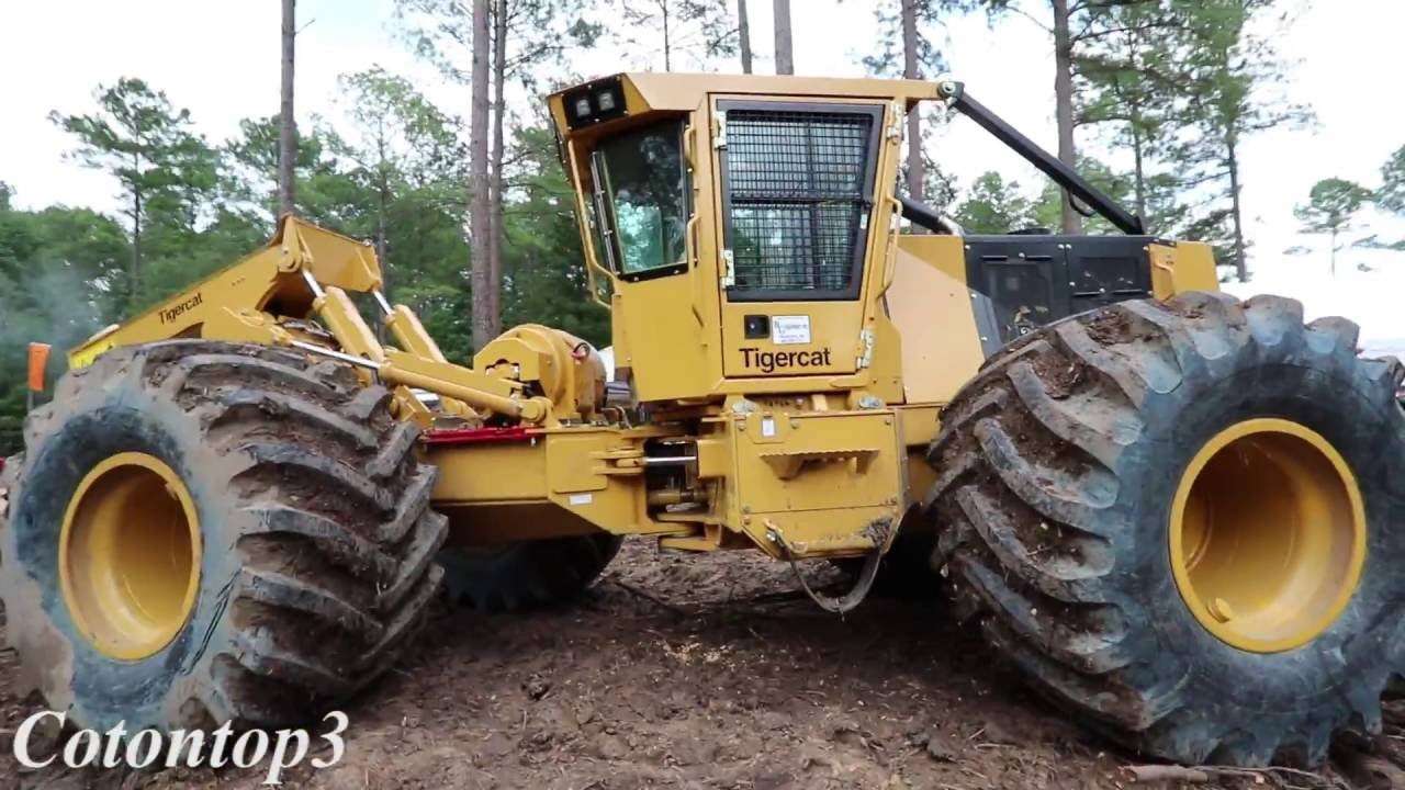 Tigercat- Midsouth Forestry Equipment show!