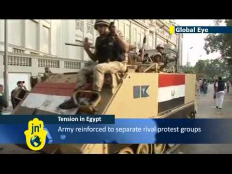 Egypt Coup Crisis: Heavy security on the streets of Cairo for 1973 war anniversary celebrations