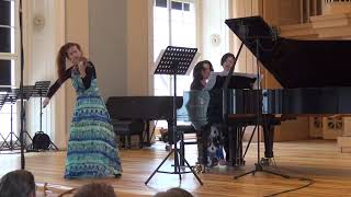 Karol Szymanowski - Myths op. 30, No. 1 ,,The Fountain of Arethusa (Ludmila Pavlová/Alissa Firsova)