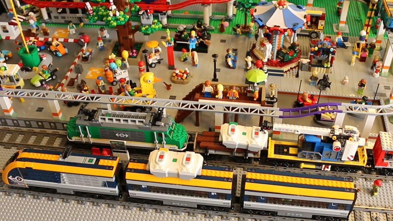 New Ukonio City Die Neuen Sommer 2018 Lego City Züge Kreisen Youtube