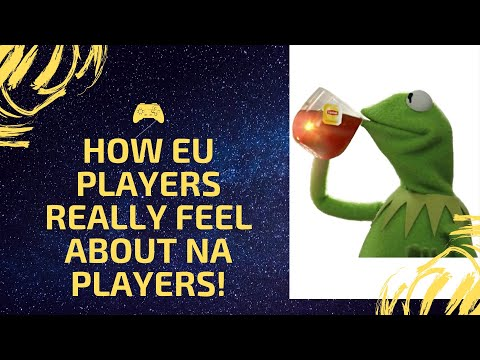 How EU Gamers Really Feel About NA Gamers