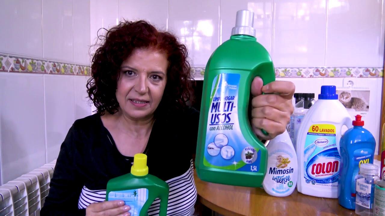 Productos de limpieza terminados, octubre 2020, mi opinión