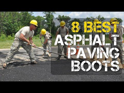 8 Best Asphalt Paving Boots for Road Construction