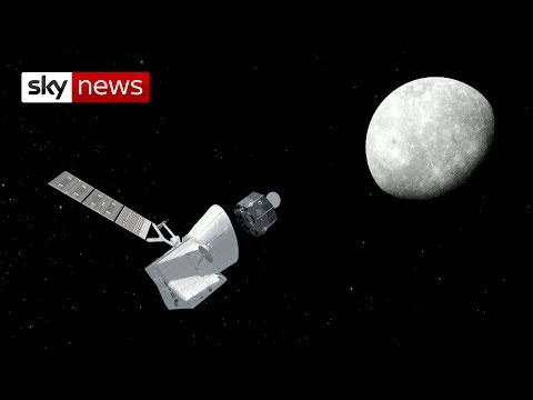 Mission to Mercury: Blast-off for UK-built spacecraft BepiColombo
