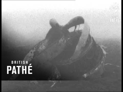 Plane Crash On Winter Hill (1958)