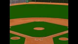 Old Time Baseball Computer game, announcer introduction