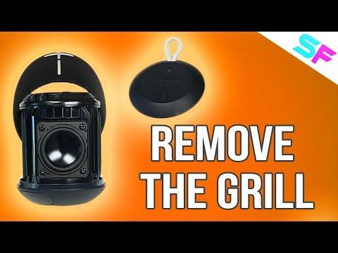 LOOK INSIDE: UE Wonderboom Remove The Grill